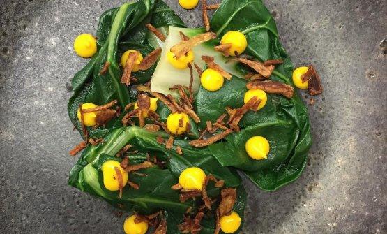 Coste, kumquat, scalogno, il piatto dell'autunno di Tommaso Spagnolo