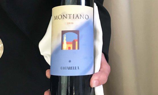 La nuova etichetta del Montiano 2016