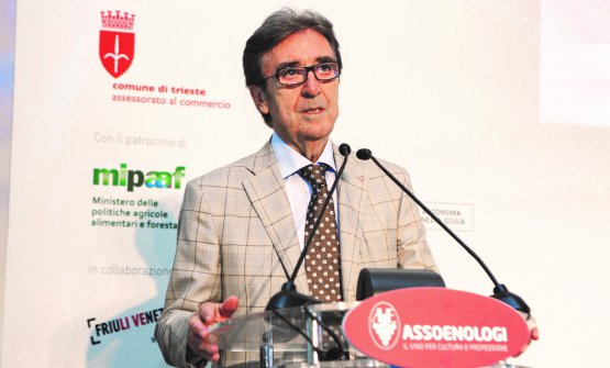Riccardo Cotarella, presidente di Assoenologi, ha