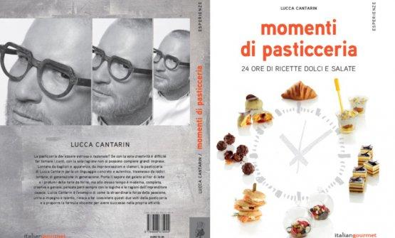 La copertina diMomenti di Pasticceria, il nuovo libro diLucca Cantarin