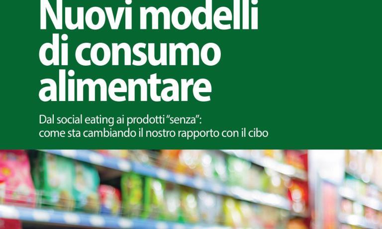 """La copertina dell'ultimo libro di Anna Zinola, Nuovi modelli di consumo alimentare. Dal social eating ai prodotti """"senza"""": come sta cambiando il nostro rapporto con il cibo(Tecniche Nuove, 2015, pp. 156, 13,90 euro, ma 11,82 euro se acquistato qui)"""