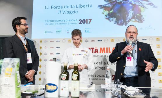 Paolo Marchi, sul palco con Luca Abbruzzino e Nicc