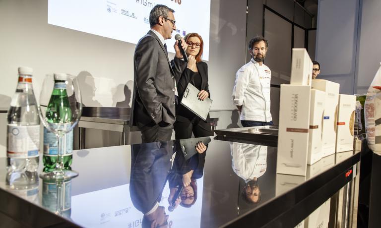 Riccardo Felicetti, Eleonora Cozzella, Carlo Cracco