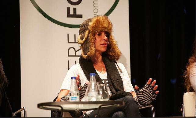 Dominique Crenn dell'Atelier Crenn di San Francisco, la prima cuoca con due stelle Michelin su suolo americano