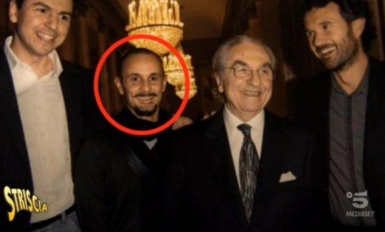 Crippa è il primo allievo di Gualtiero Marchesi ad avere ottenuto le tre stelle MIchelin. Nella foto è in compagnia, oltre che del maestro, di Andrea Berton a sinistra e di Carlo Cracco a destra
