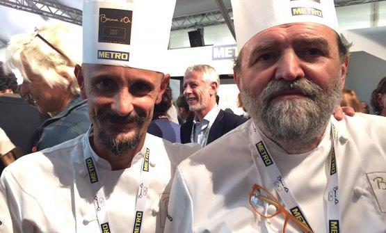 Enrico Crippa e Luciano Tona
