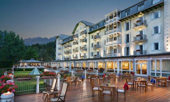 Il Cristallo di Cortina, un indirizzo mitico e ric