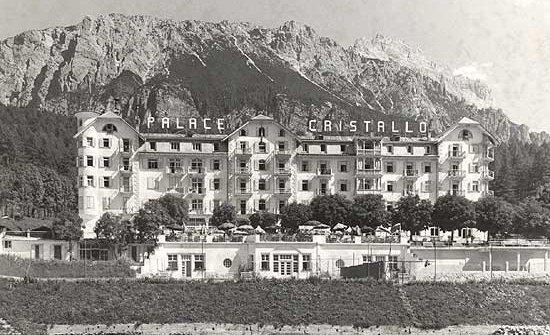 Un'immagine d'archivio del Cristallo negli anni Sessanta
