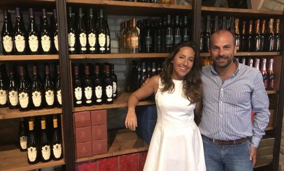 Cristina Cerri e Achille Bergami