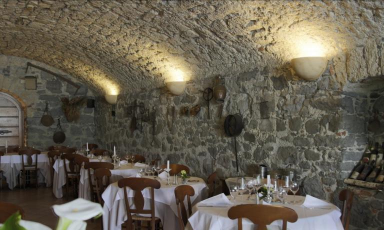 La sala dell'Antico Crotto