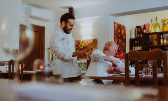 Armando e il papà MaurizioSciarrone