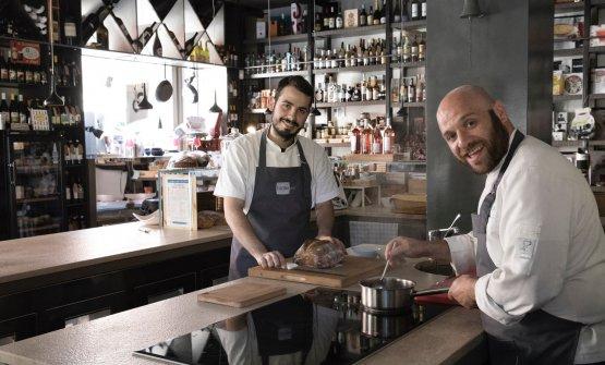 Gli chef di Cucina.eat: Mauro Ladu e Francesco Vitale