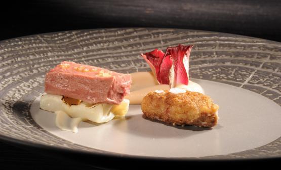 Cuore e Cervello è la ricetta 2017 di Marco Sacco, chef del Piccolo Lago di Verbania