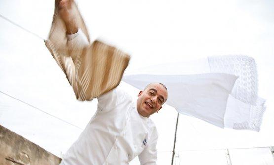 Pino Cuttaia, due stelle Michelin alla sua La Madi