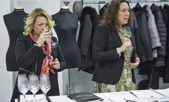 Da sinistra, Silvia Ferrari e Chiara Giovoni