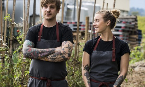 Matt Stone e Jo Barrett, compagni e co-chef di Oa