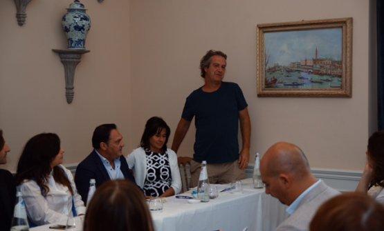Da destra Bibi Graetz, Barbara Sandrone, Carmelo Bonetta, Adriana Melissano