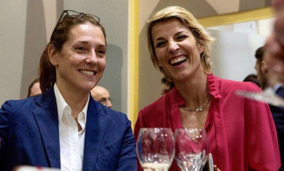 Francesca Moretti con Giulia Dirindelli