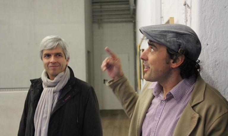 Da sinistra, Andrea Carpi e Gerhard Sanin