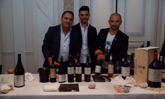 Da sinistra Carmelo e Angelo Bonetta, Dario Indelicato