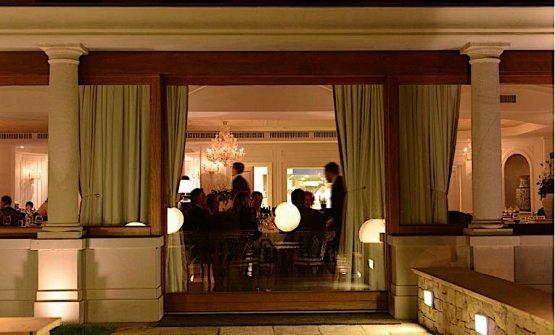La sala del ristorante della famiglia Cerea, il tre stelle da Vittorio a Brusaporto vicino Bergamo. L'autrice di questo articolo, Carlotta Cenedese, displomatasi a Intrecci, la scuola di alta formazione di sala, vi ha sostenuto uno stage dal 9 luglio al 5 ottobre 2018