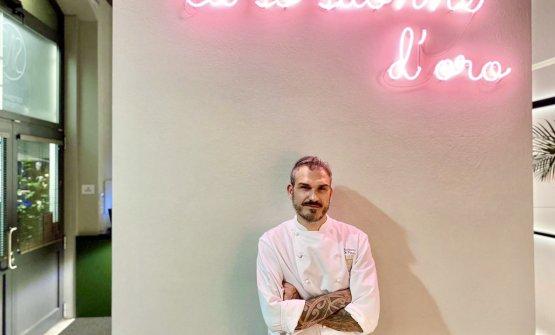 Lo chef Roberto Di Pinto, patron del ristorante Si