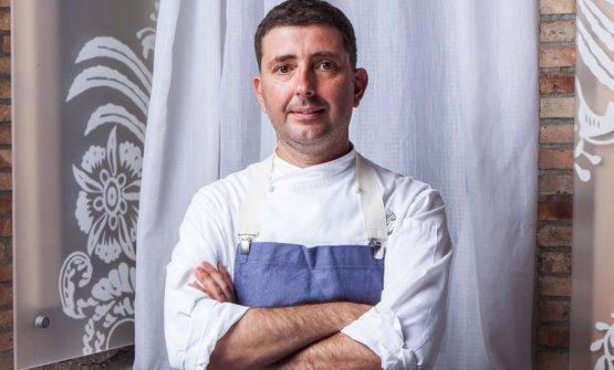 Pietro D'Agostino, classe 1972, chef de La Cap