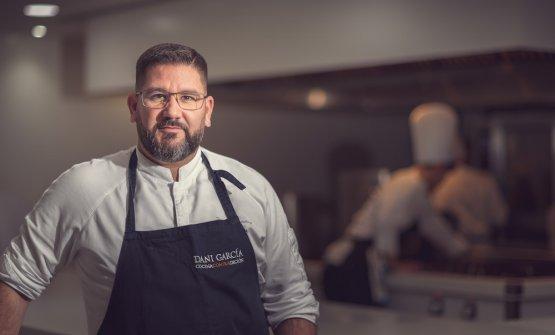Dani García, chef of the restaurant bearing his n