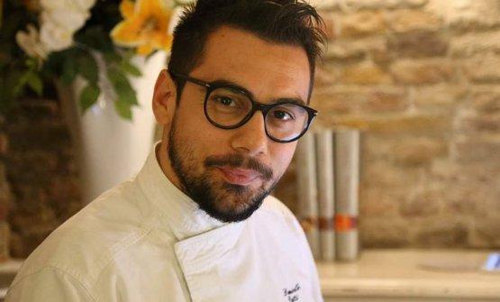 Daniele Patti, chef del ristorante Lo Scudiero