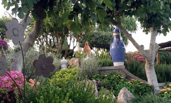Lo splendido giardino del DanìMaison