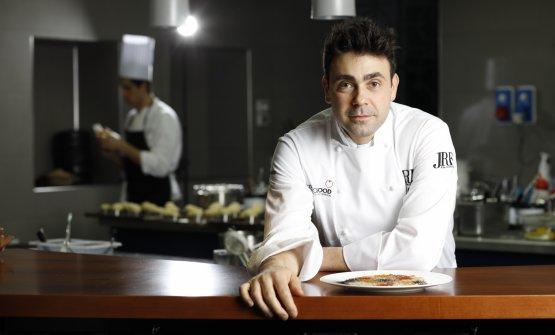 Daniel Canzian, chef dell'omonimo ristorante (foto di Lorenzo Rui)