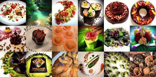 Un campionario delle ricette tratto dal sito di Daniela Cicioni, cuoca freelance vegana, crudista e macrobiotica. Ha fatto suo il credo di Albert Einstein:�La creativit� � l'Intelligenza che si diverte