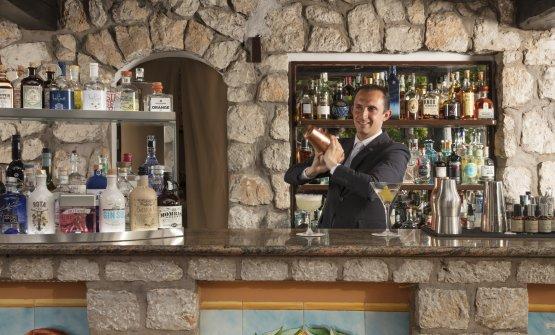 Daniele Chirico, bar managerdel Le Monzù Cockta