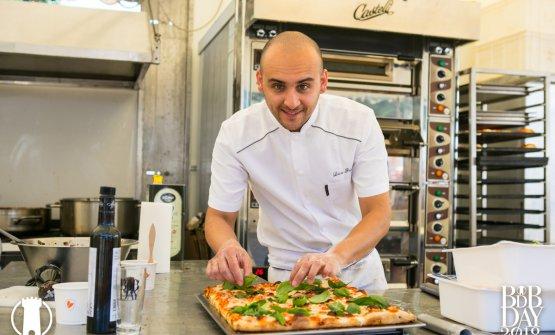 Luca Pezzetta, chef e pizzaiolo dell'Osteria di Birra del Borgo