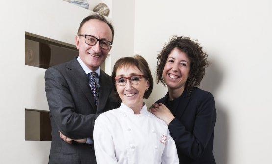 Mauro Gualandris, Marta Grassi ed Eleonora Conte