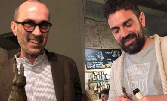 Paolo Baldelli e Antonio Boco