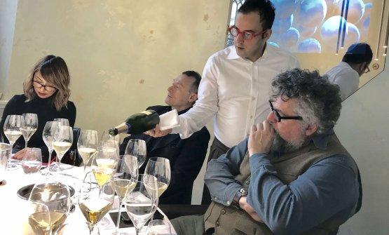 Degustazione diPalazzo Lana Extrême a Identità Golose Milano