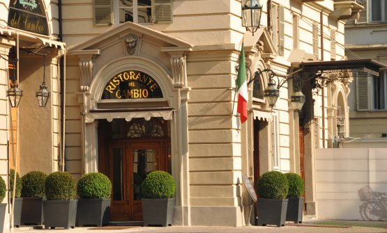 Il ristorante Del Cambio di Torino