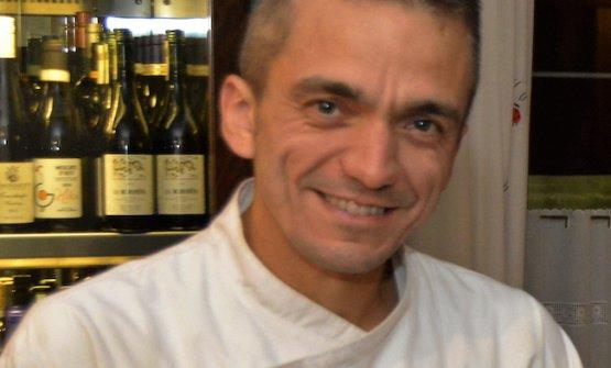 Lo chef Massimo Dellaferrera