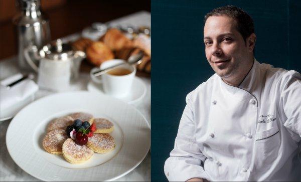 Nicola Di Lena è il pastry chef di Antonio Guida dai tempi del Pellicano a Porto Ercole