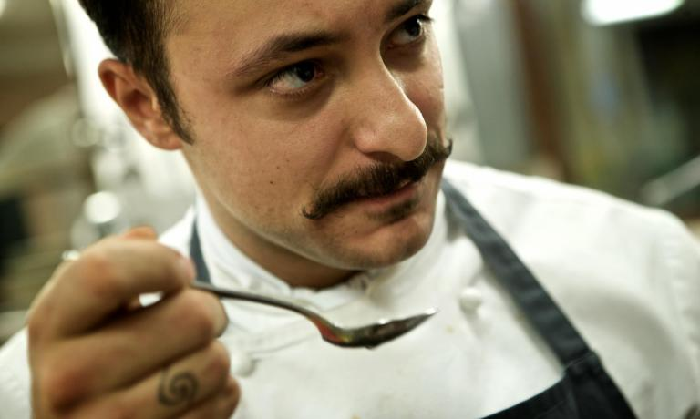 Lo chef Diego Rossi