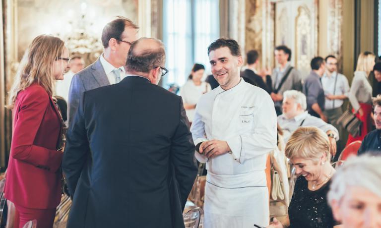 Filippo Sinisgalli, lo chef del Palato Italiano