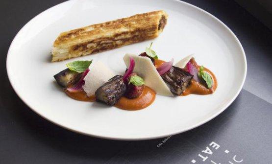 Cannellone di filindeu arrostito, pecora sfilaccia
