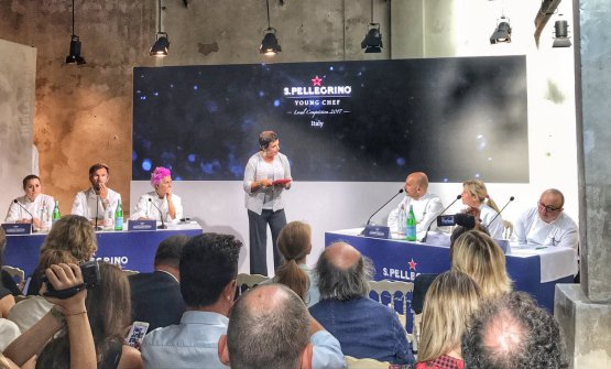 The jury of the prize presented by Francesca Barberini