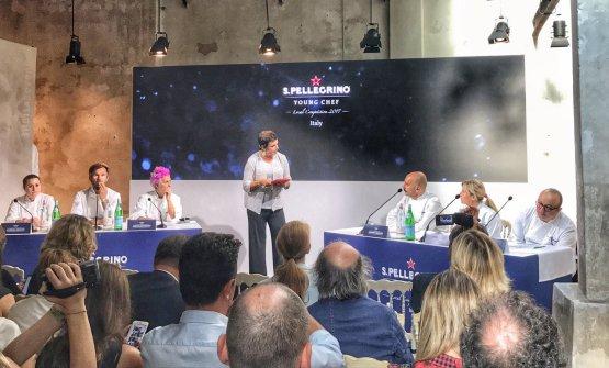 The jury of the prize presented byFrancesca Barberini