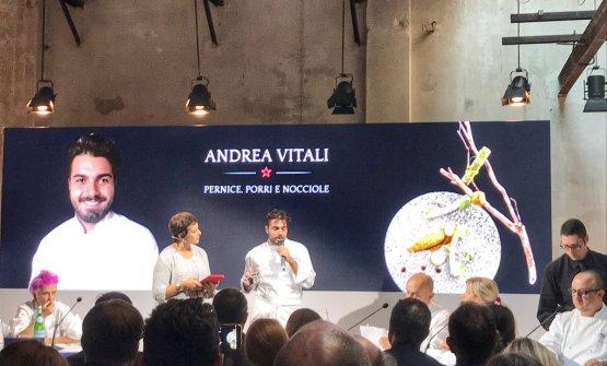 Andrea Vitali al S.Pellegrino Young Chef