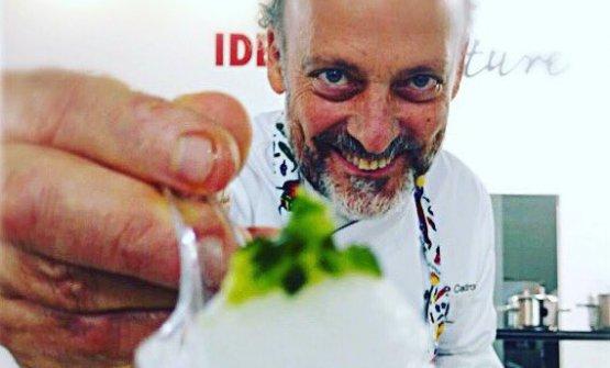 Moreno Cedroni a Identità Future ha proposto sorbetti gastronomici realizzati grazie alla mantecatrice Principessa