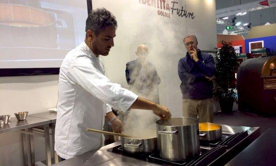 Domenico Della Salandra, chef di Desinolento a Mil