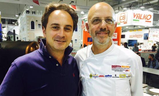 Nino Di Costanzo e Franco Pepe, nella foto di Paolo Marchi
