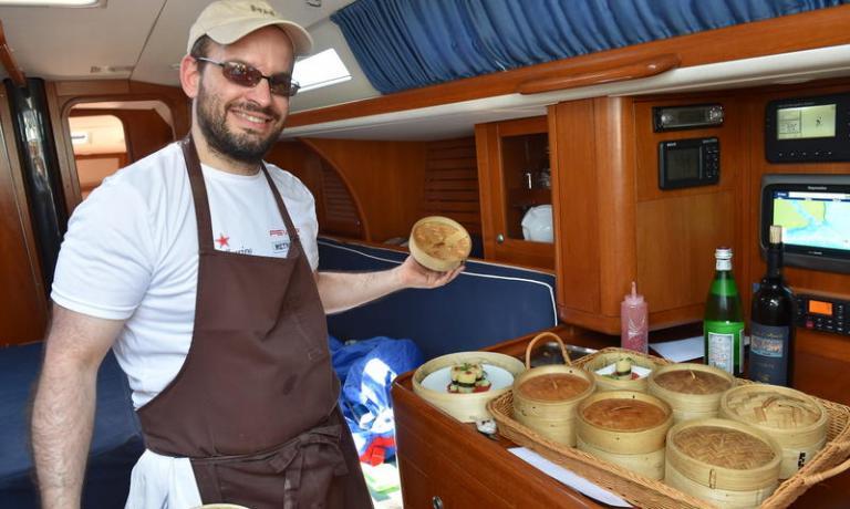 Luca Veritti, chef di Met Fever, è il vincitore della S.Pellegrino Cooking Cup 2015 con il suo piatto Paccheri, profumo di mare e sapore d'Oriente